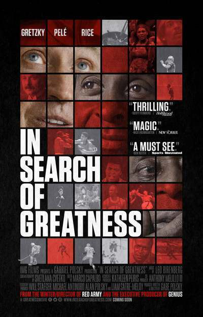 In Search of Greatness movie poster