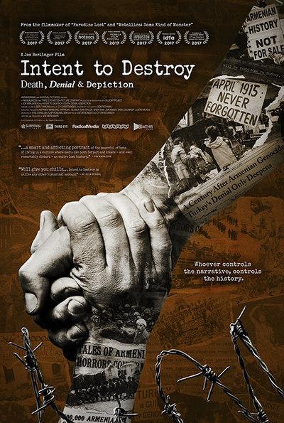 Intent to Destroy: Death, Denial & Depiction movie poster