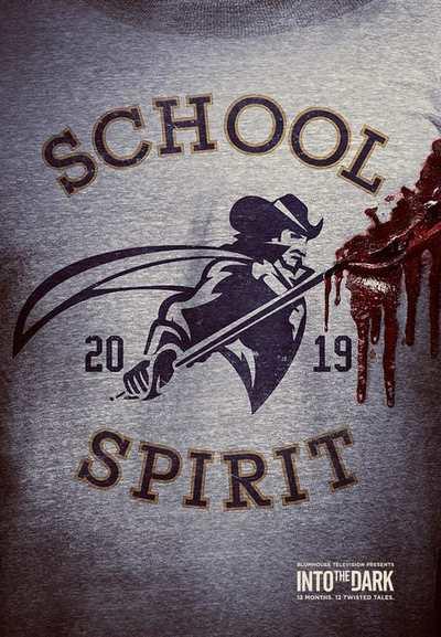 Into the Dark: School Spirit movie poster