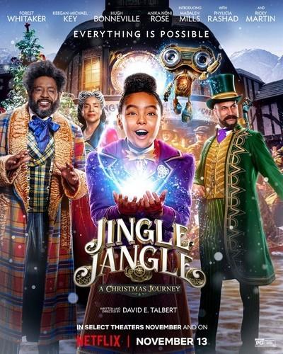 Jingle Jangle: A Christmas Journey movie poster
