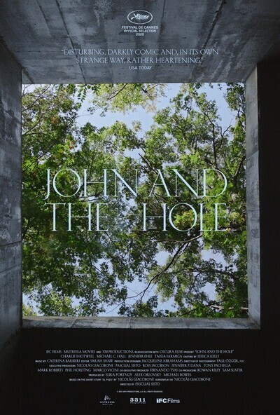 John and the Hole movie poster