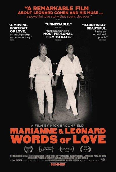 Marianne & Leonard: Words of Love movie poster