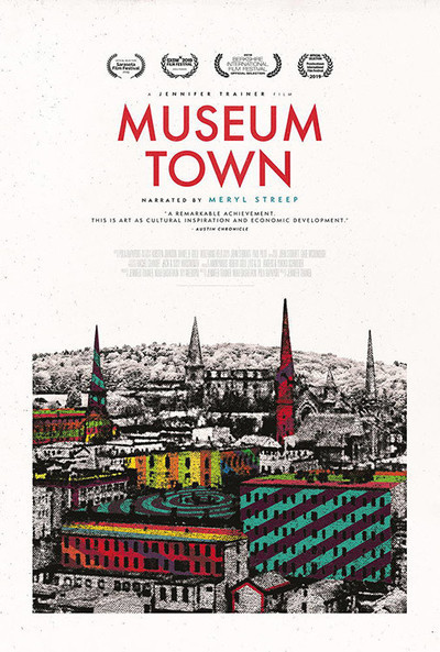 Museum Town movie poster