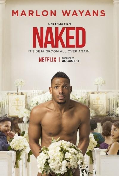 Naked movie poster