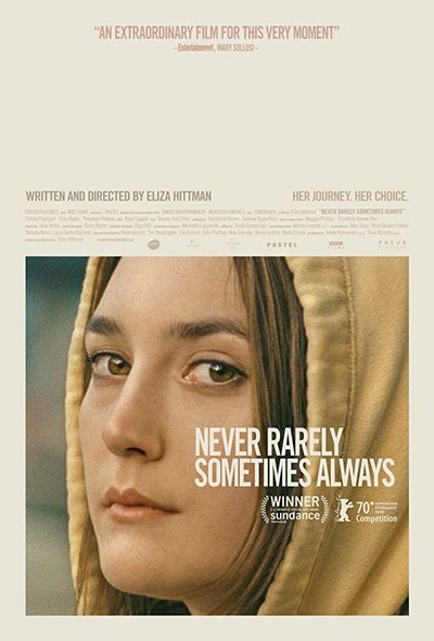 Never, Rarely, Sometimes, Always movie poster