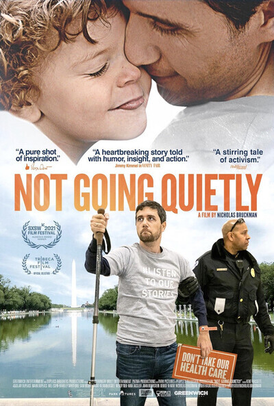 Not Going Quietly movie poster