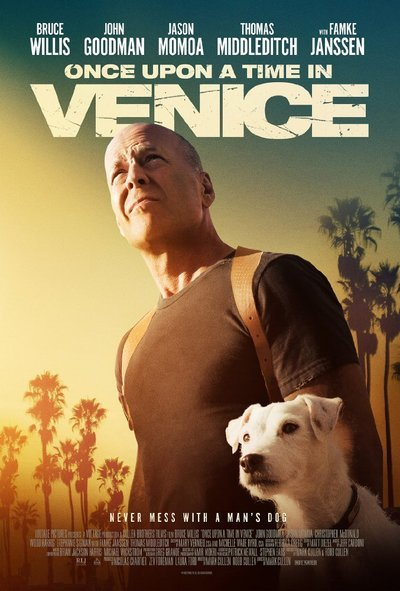Once Upon a Time in Venice movie poster