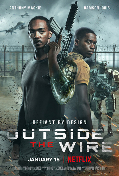Outside the Wire movie poster