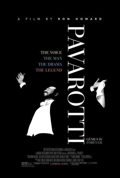 Pavarotti movie poster