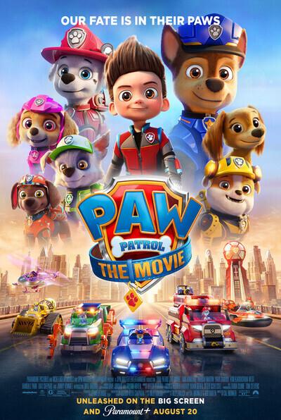 PAW Patrol: The Movie movie poster