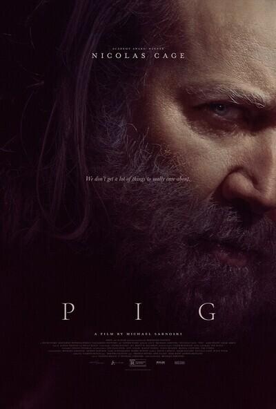 Pig movie poster