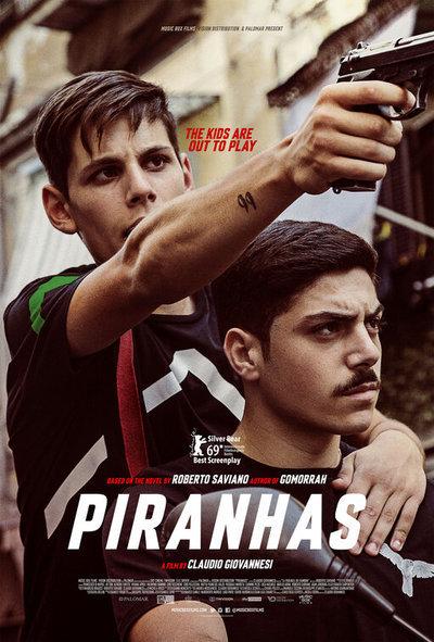 Piranhas movie poster