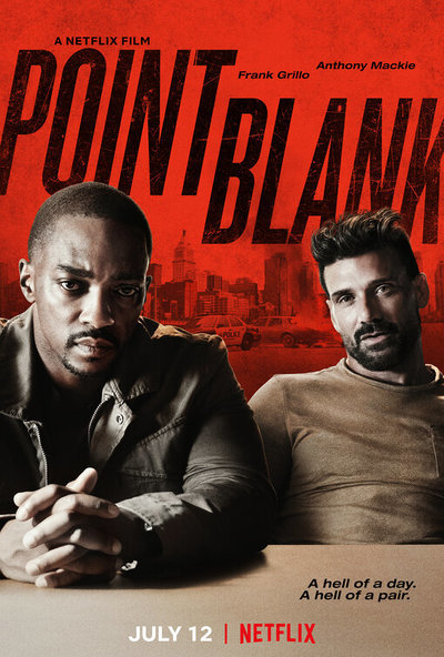 Point Blank movie poster
