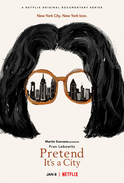 Pretend It's a City movie poster