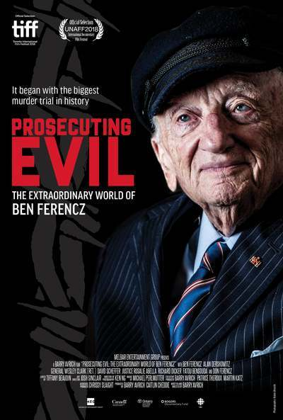 Prosecuting Evil: The Extraordinary World of Ben Ferencz movie poster
