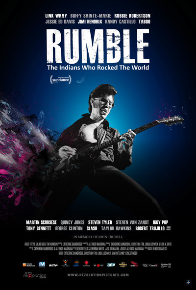 Rumble: The Indians Who Rocked the World movie poster
