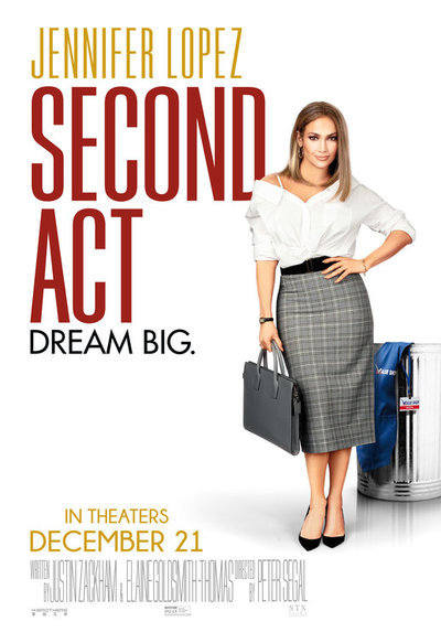 Second Act movie poster