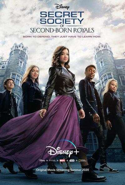 Secret Society of Second-Born Royals movie poster