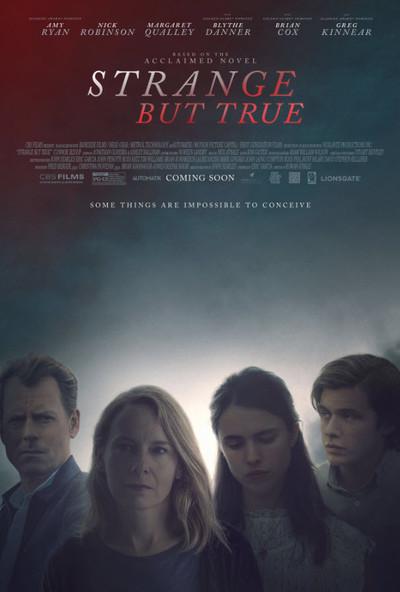 Strange But True movie poster