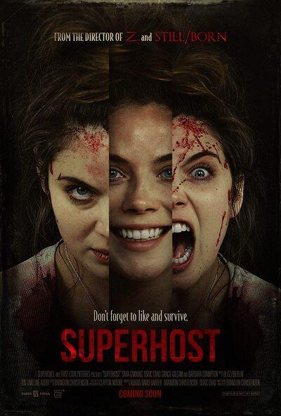 Superhost movie poster