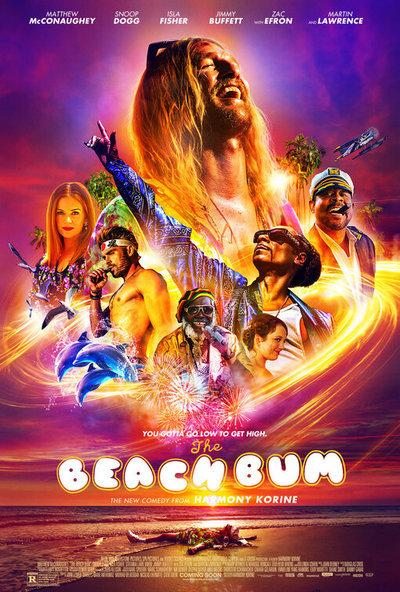 The Beach Bum movie poster