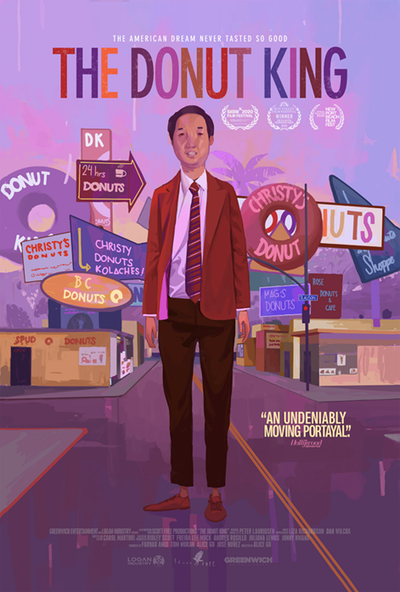 The Donut King movie poster