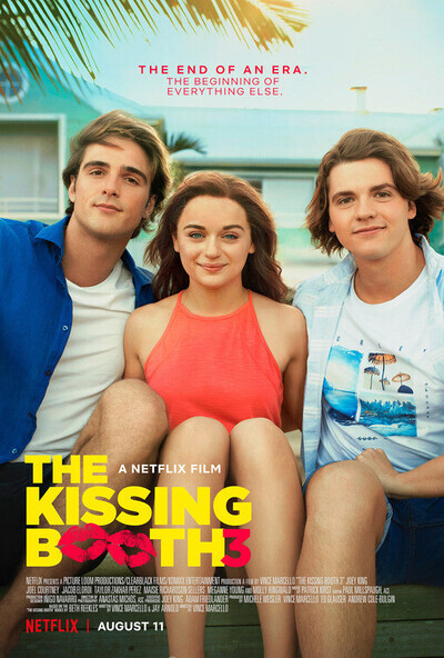 The Kissing Booth 3 movie poster