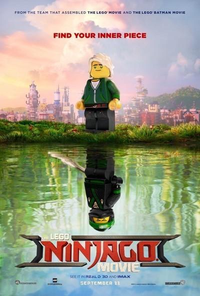 The LEGO Ninjago Movie movie poster