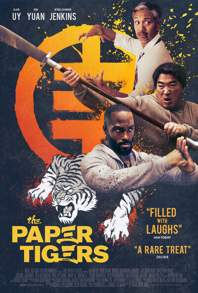 The Paper Tigers movie poster