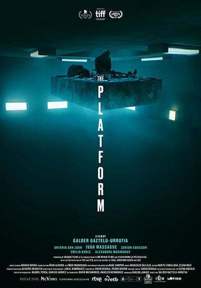 The Platform movie poster