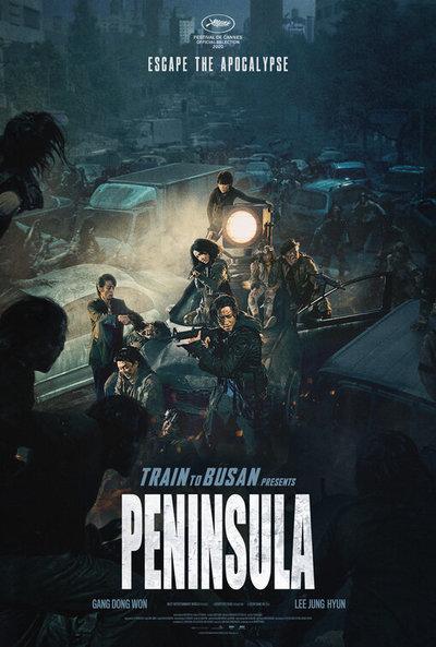 Train to Busan Presents: Peninsula movie poster