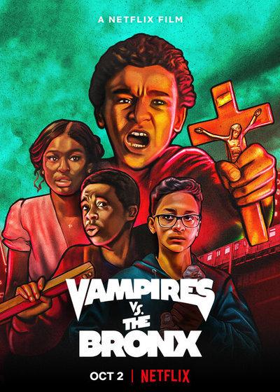 Vampires vs. the Bronx movie poster