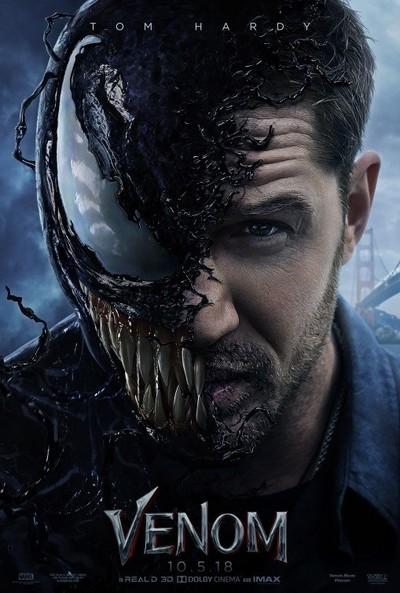 Venom movie poster