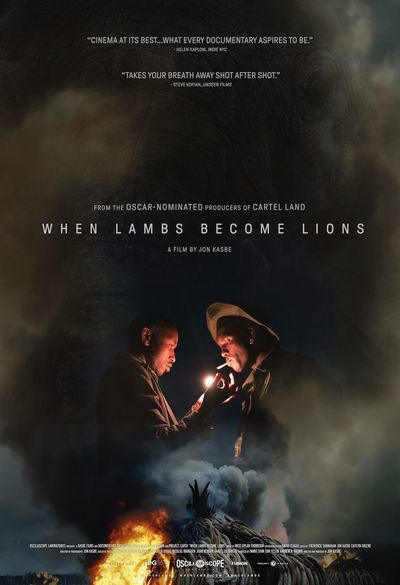 When Lambs Become Lions movie poster