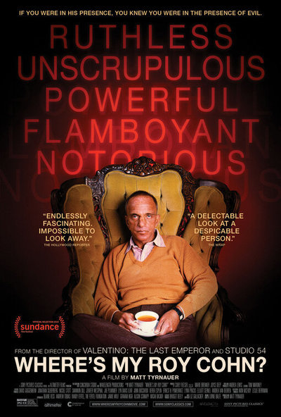 Where's My Roy Cohn? movie poster