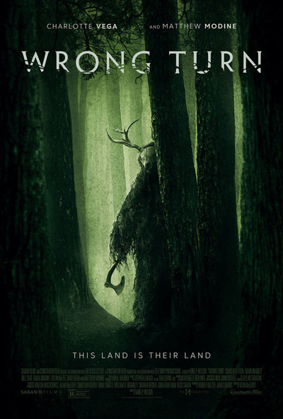 Wrong Turn movie poster