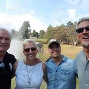 At Rodrigo and Maru's in Mexico with Doug Leadley at Arabian Soul