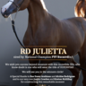 Congratulations North by Northwest, LLC on RD Julieta, she is now yours!!!