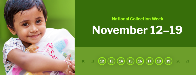 National Collection Week: Nov. 12-19
