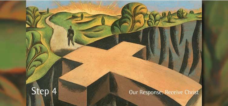 4 단계 - 우리의 응답: 그리스도의 영접