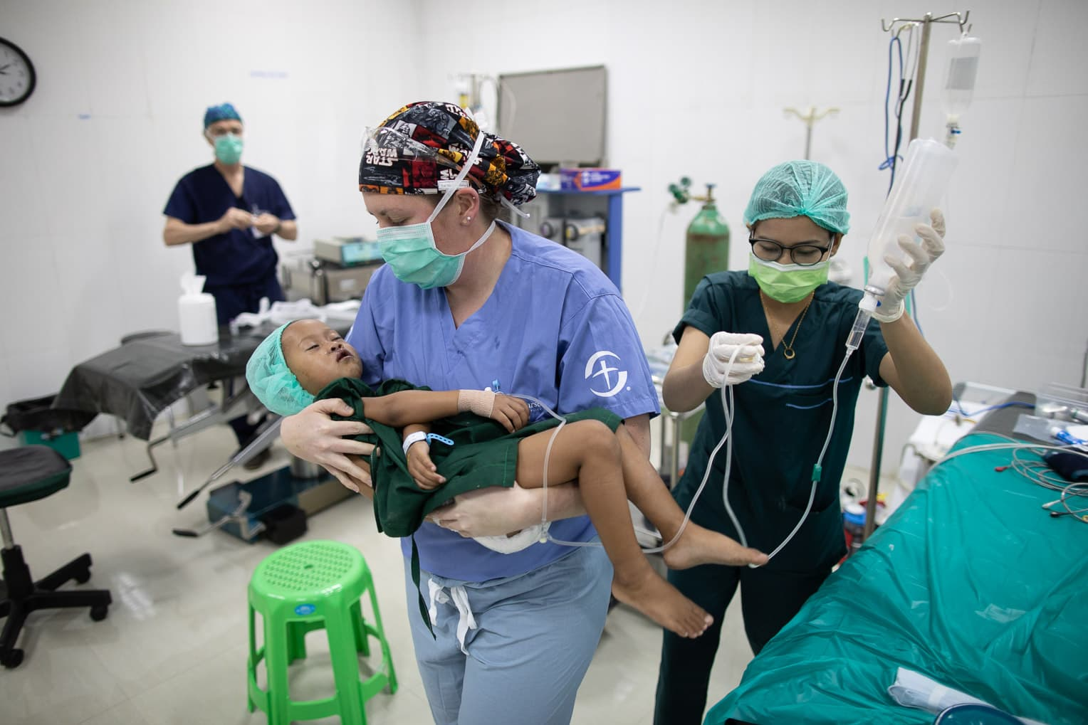 More than 40 people, including many children, had surgery through our Cleft Lip and Palate Surgery Project in Myanmar.