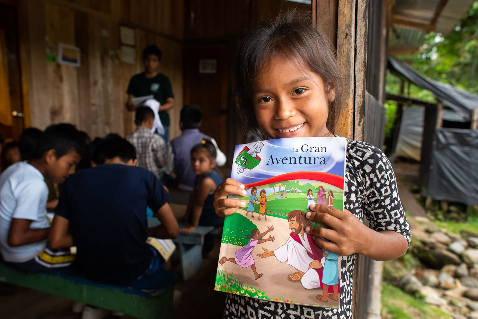 The Greatest Journey is our follow-up discipleship program for boys and girls who receive Operation Christmas Child shoebox gifts.