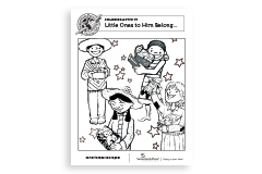 Little Ones to Him Belong Coloring Sheet