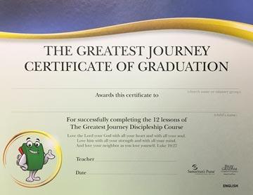 The Greatest Journey Discipleship Program