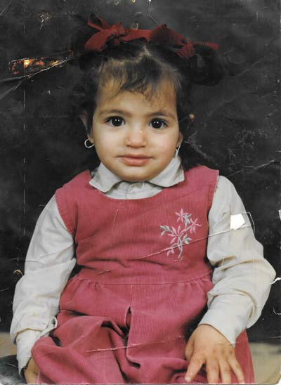 Dania childhood portrait