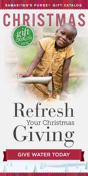 Christmas Gifts that share the Gospel - Clean Water