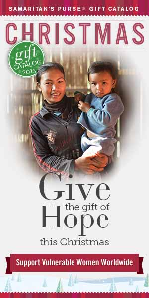 Christmas Gifts that share the Gospel - Women's Programs