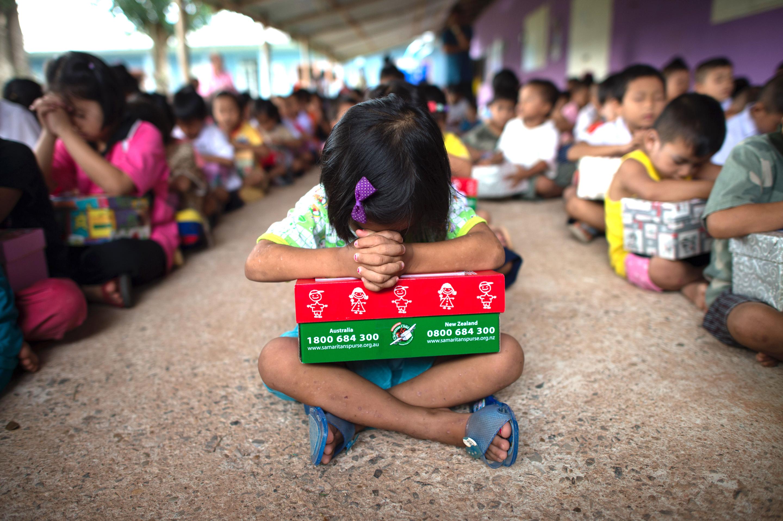Operation Christmas Child Shoebox.Operation Christmas Child Photos