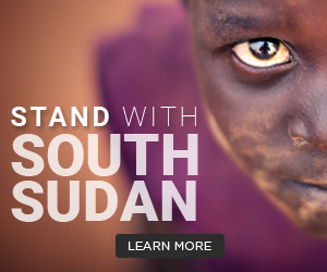 Stand in South Sudan