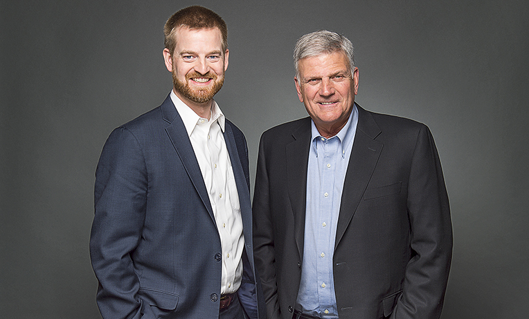 Franklin Graham and Kent Brantly